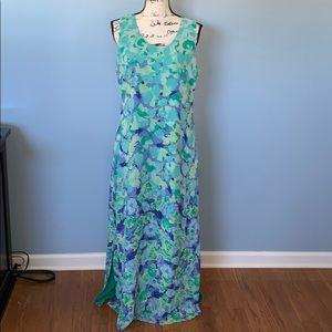 LIZ CLAIBORNE maxi dress size 10